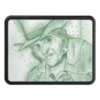 Scrooge in Green Trailer Hitch Cover