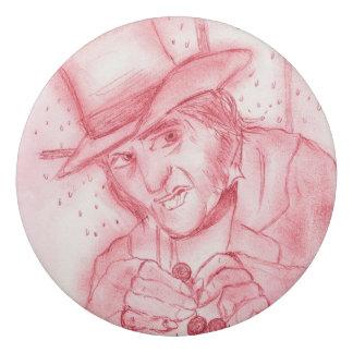 Scrooge in Red Eraser