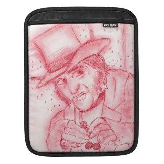 Scrooge in Red iPad Sleeve