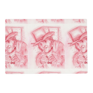 Scrooge in Red Placemat