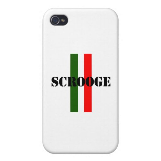 Scrooge iPhone 4/4S Carcasa