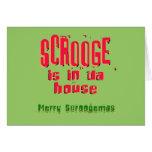 Scrooge is in da house2 card