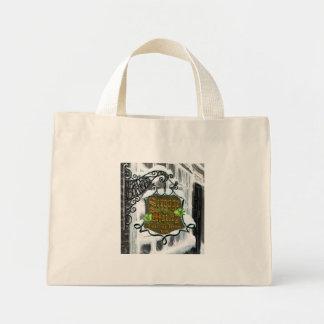Scrooge&MarleySignScene Canvas Bags