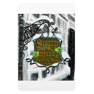 Scrooge&MarleySignScene flexible magnet