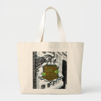 Scrooge&MarleySignScene Jumbo Tote Bag