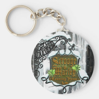 Scrooge&MarleySignScene Keychain