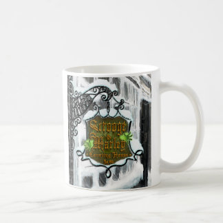 Scrooge&MarleySignScene Classic White Coffee Mug