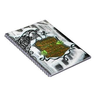 Scrooge&MarleySignScene notebook