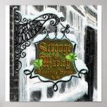 Scrooge&MarleySignScene Posters
