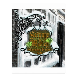 Scrooge&MarleySignScene Postal