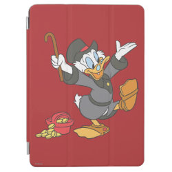 iPad Air Cover with Carl Barks' Scrooge McDuck design
