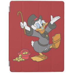 iPad 2/3/4 Cover with Carl Barks' Scrooge McDuck design