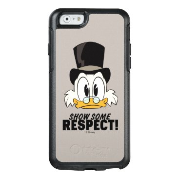 Scrooge McDuck   Show Some Respect! OtterBox iPhone 6/6s Case