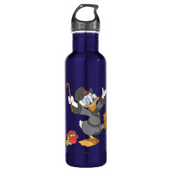 Water Bottle (24 oz) with Carl Barks' Scrooge McDuck design