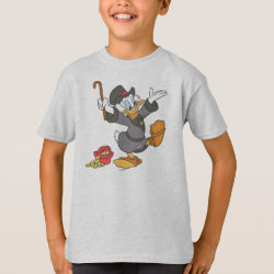 Kids' Hanes TAGLESS® T-Shirt with Carl Barks' Scrooge McDuck design