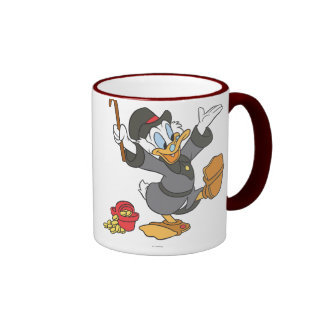 Scrooge McDuck Taza A Dos Colores