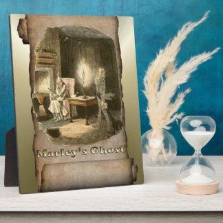 Scrooge of Christmas - A Christmas Carol Display Plaque