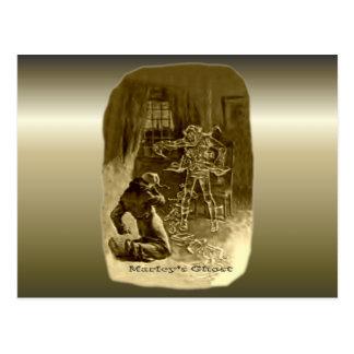 Scrooge of Christmas - A Christmas Carol Postcard