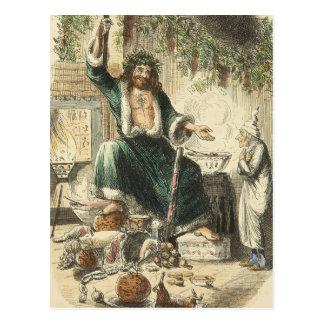 Scrooge s Third Visitor Postcard