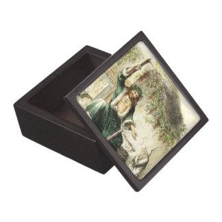 Scrooge & Spirit of Christmas Present - Gift Box