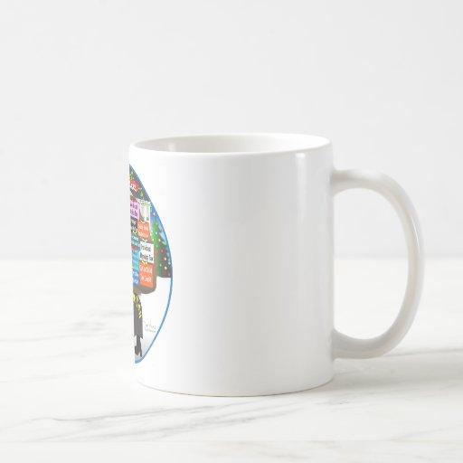 Scrooge usted taza de café