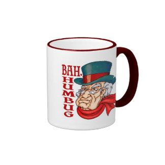 Scrooge viejo malo taza de dos colores