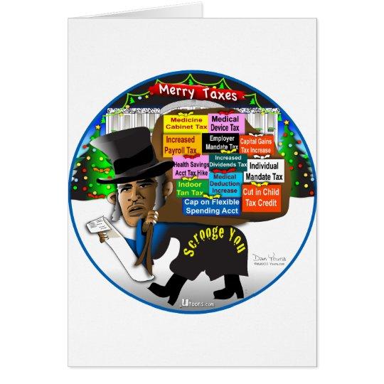 Scrooge You Card