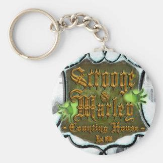 ScroogeMarleySignUpClose Keychain