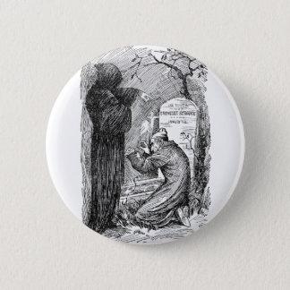 Scrooge's Grave Pinback Button