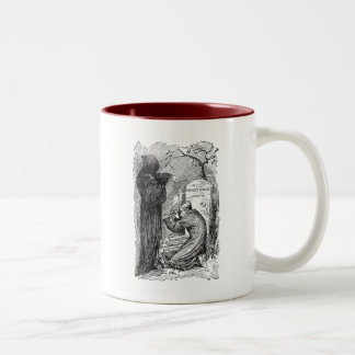 Scrooge's Grave Two-Tone Coffee Mug