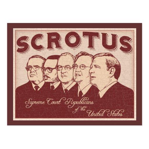 SCROTUS POSTALES