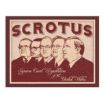 SCROTUS POSTCARD