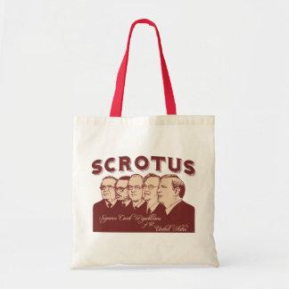 SCROTUS TOTE BAG