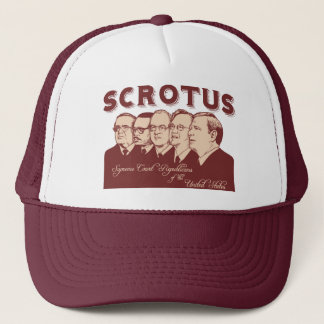 SCROTUS TRUCKER HAT