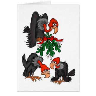 Scrounge encima de tarjeta de Navidad de la divers