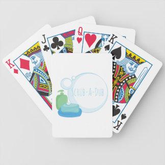 Scrub-A-Dub Bicycle Playing Cards
