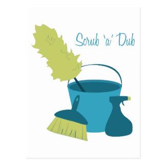 Scrub 'A' Dub Post Cards