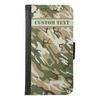 Scrub Camo Smartphone Wallet w/ Text