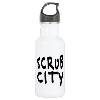 SCRUB CITY STAINLESS STEEL WATER BOTTLE