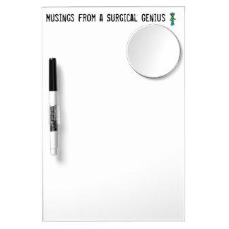 Scrub Man Items Dry Erase Board With Mirror