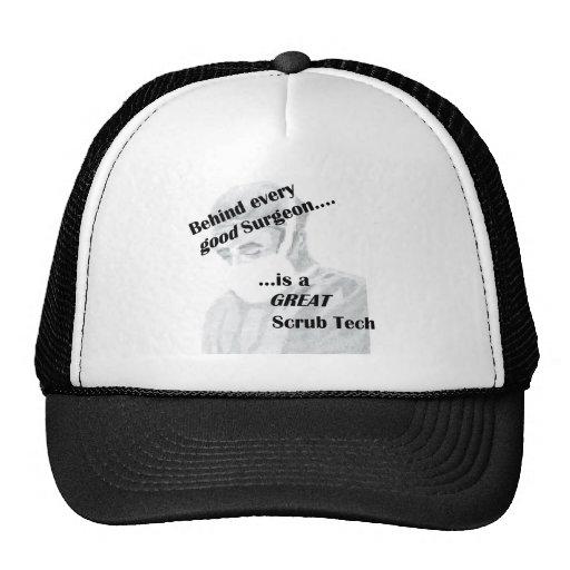 Scrub Tech Hats