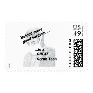 Scrub Tech Stamps