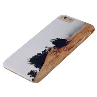 Scrub Themed, Red Dirt And A Couple Of Bushes In F Barely There iPhone 6 Plus Case