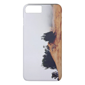 Scrub Themed, Red Dirt And A Couple Of Bushes In F iPhone 7 Plus Case
