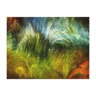 Scrub vegetation by rafi talby canvas print