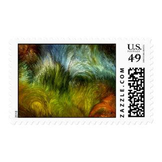 Scrub vegetation by rafi talby stamps