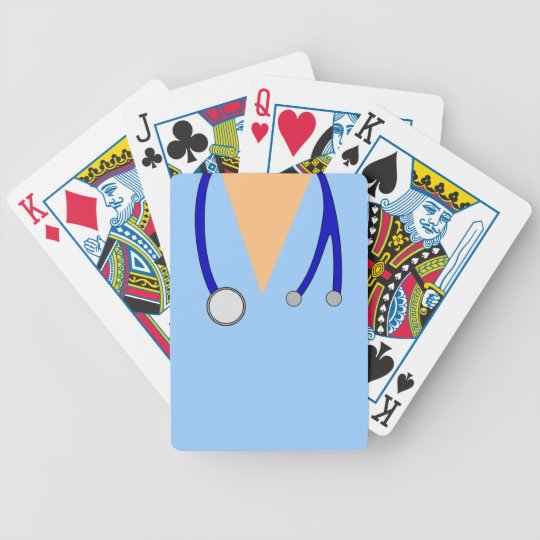 scrubs medical custom deck of cards nurse doctor  zazzle