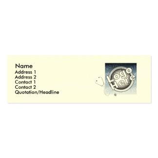 Scrubs - Skinny Business Card Templates