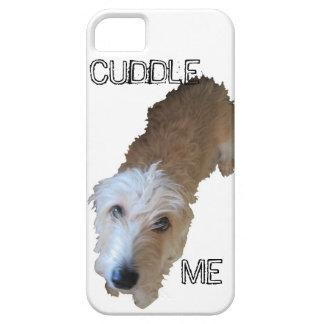 """Scruffy Dog """"CUDDLE ME"""" iPhone 5 Case"""