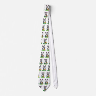 Scruffy Easter Bunny Neck Tie